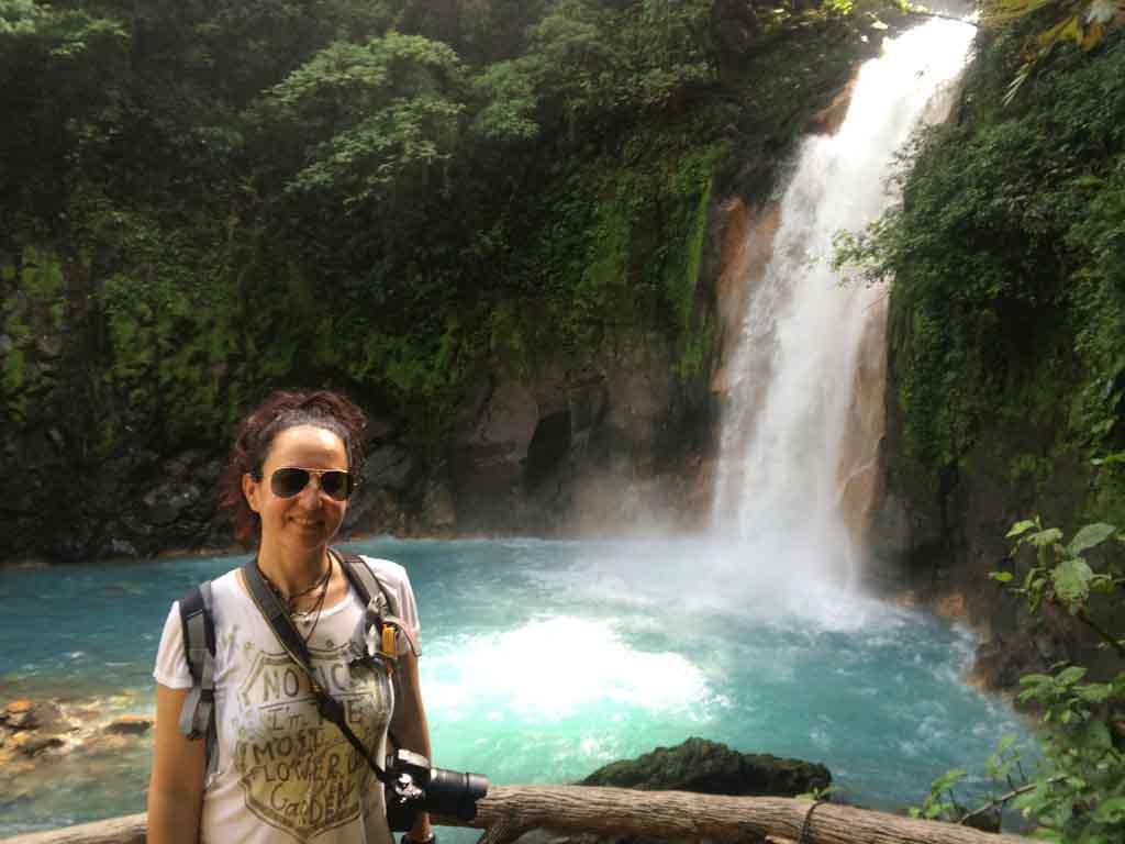 Catarata La Fortuna, Costa Rica. Diciembre de 2014