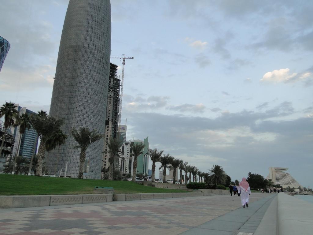 Paseando por Corniche Promenade