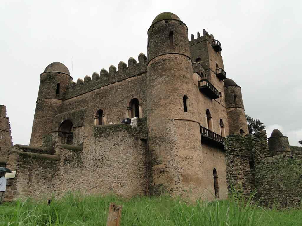 Fasil Ghebbi, Gondar, Etiopia
