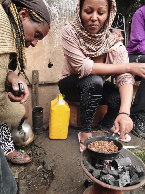 Ceremonia café, Etiopia