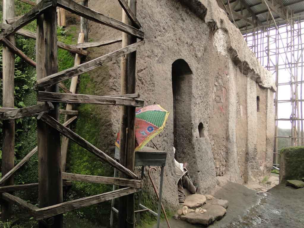 Monasterio en Abuna Yoseph, Etiopia