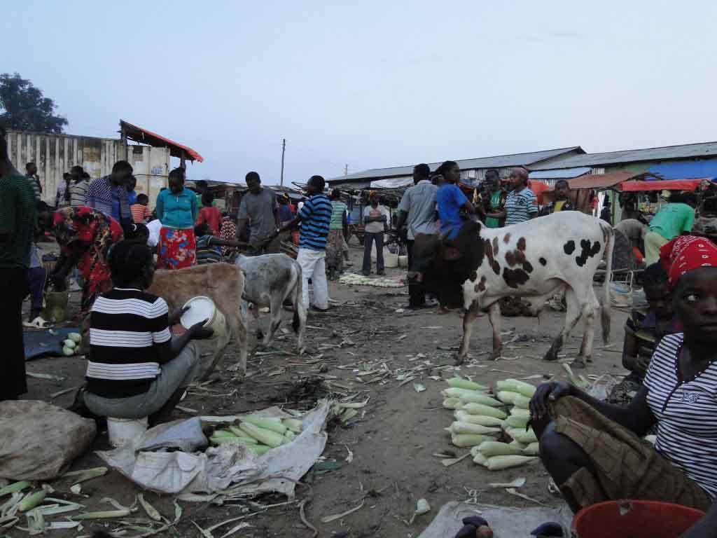 Mercado en Jinka
