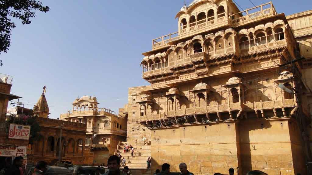 Palacio del Marajá, Jaisalmer, India