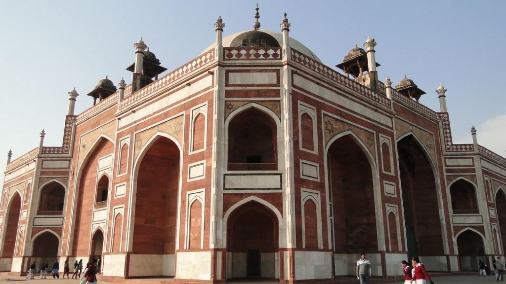 Tumba de Humayun, Delhi, India
