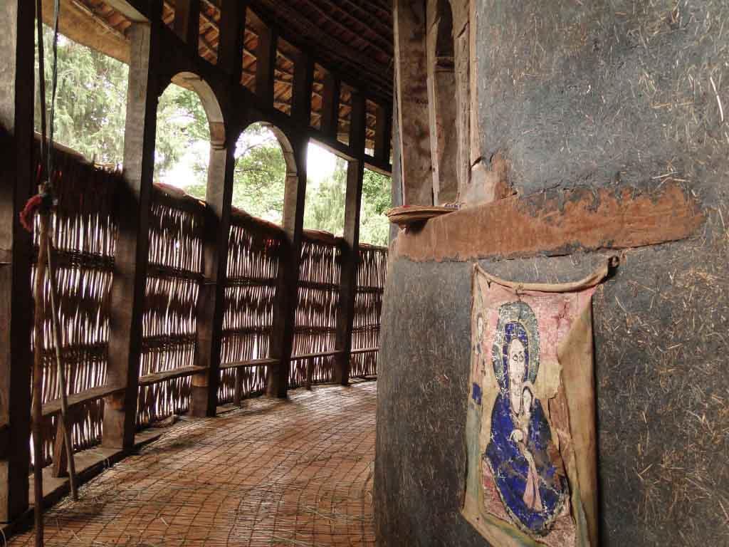 Monasterio en el Lago de Bahir Dar