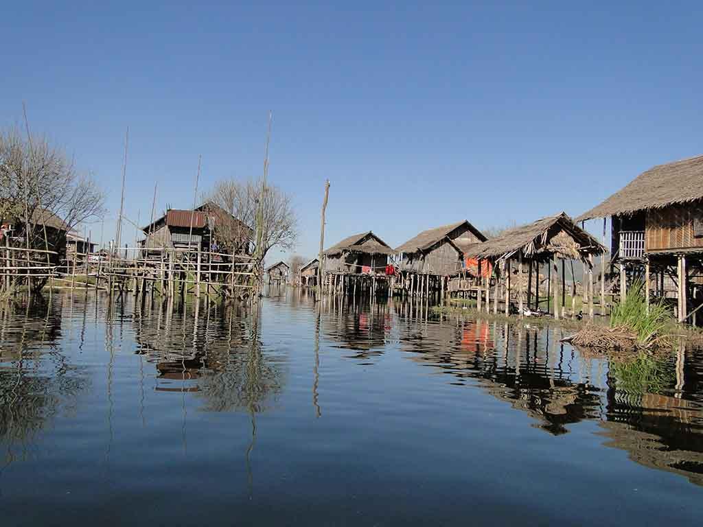Casas en Lago Inle