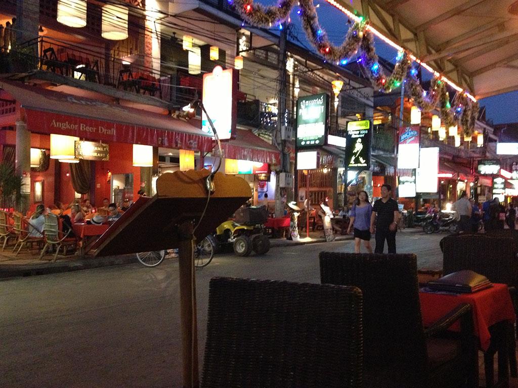 Calle de Siem Reap