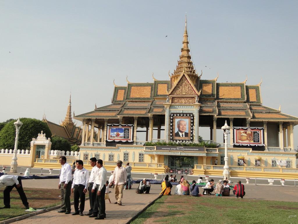 Palacio Real, Phnom Penh, Camboya