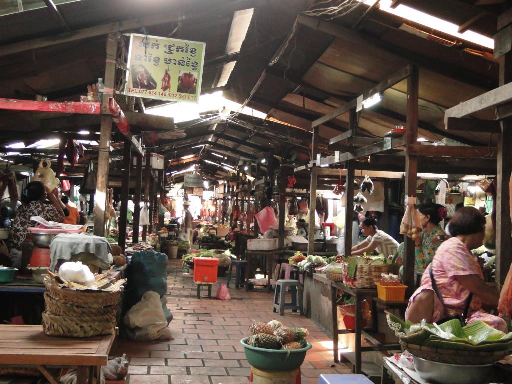 Mercado Ruso, Phonm Penh