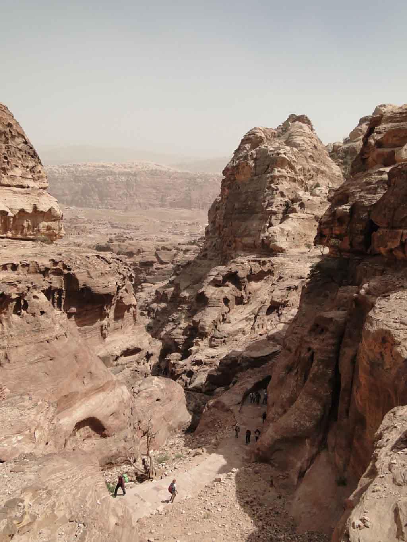Subida al Monasterio, Petra