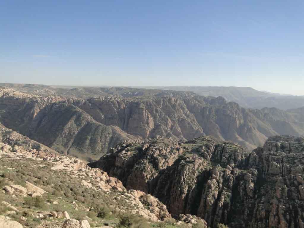 Vista de la Reserva Natural de Dana