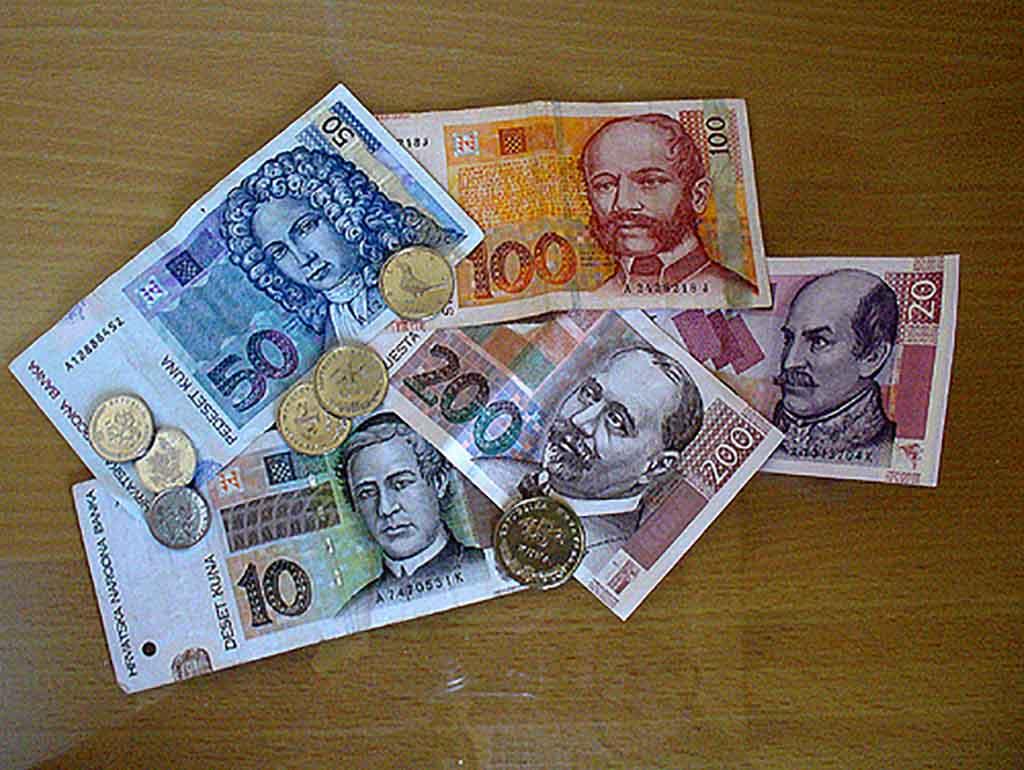 Moneda en Croacia