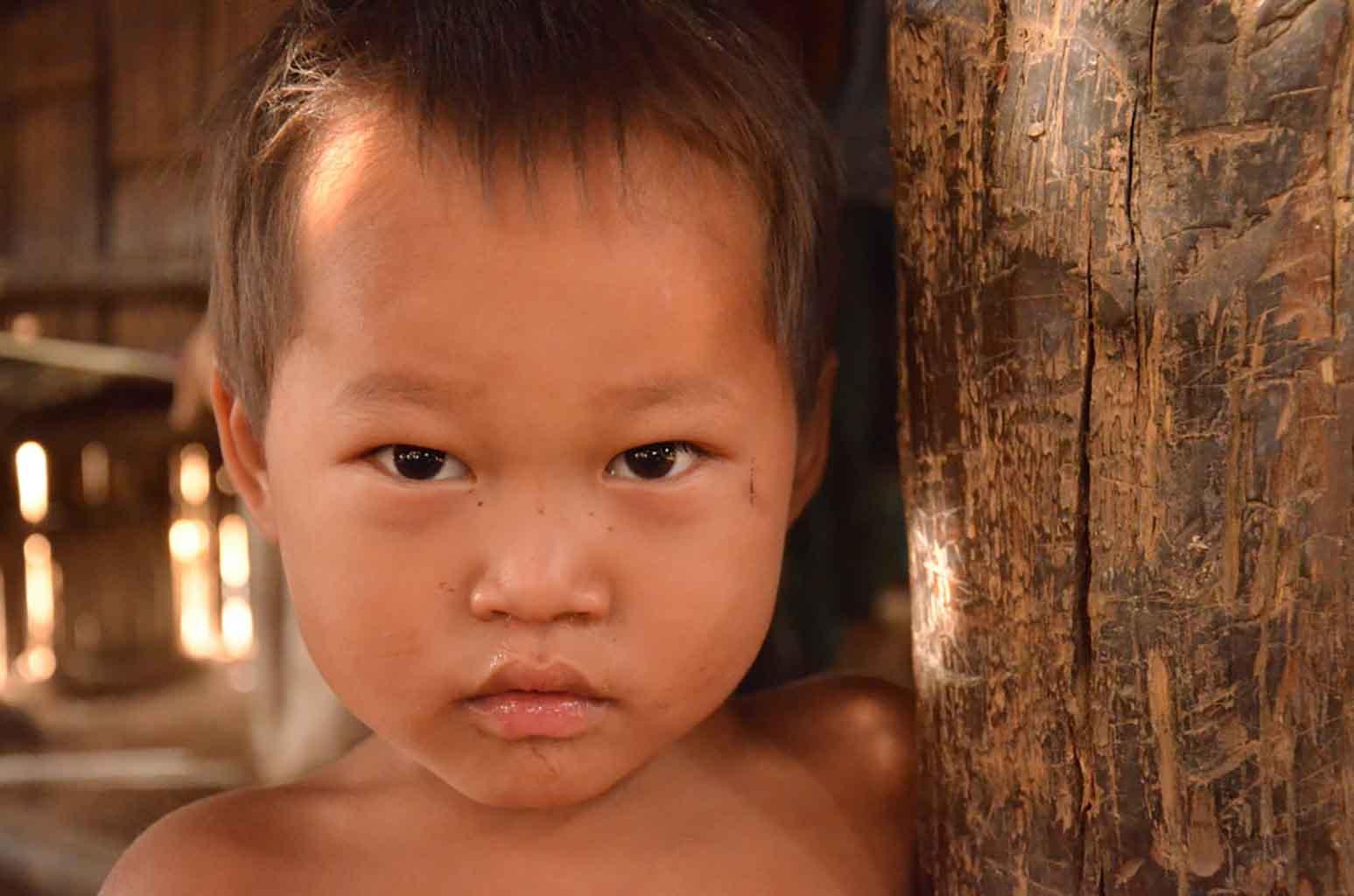 Pueblo Akha. Luang Namtha