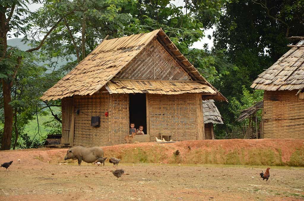 Poblado cerca de Muang Noi