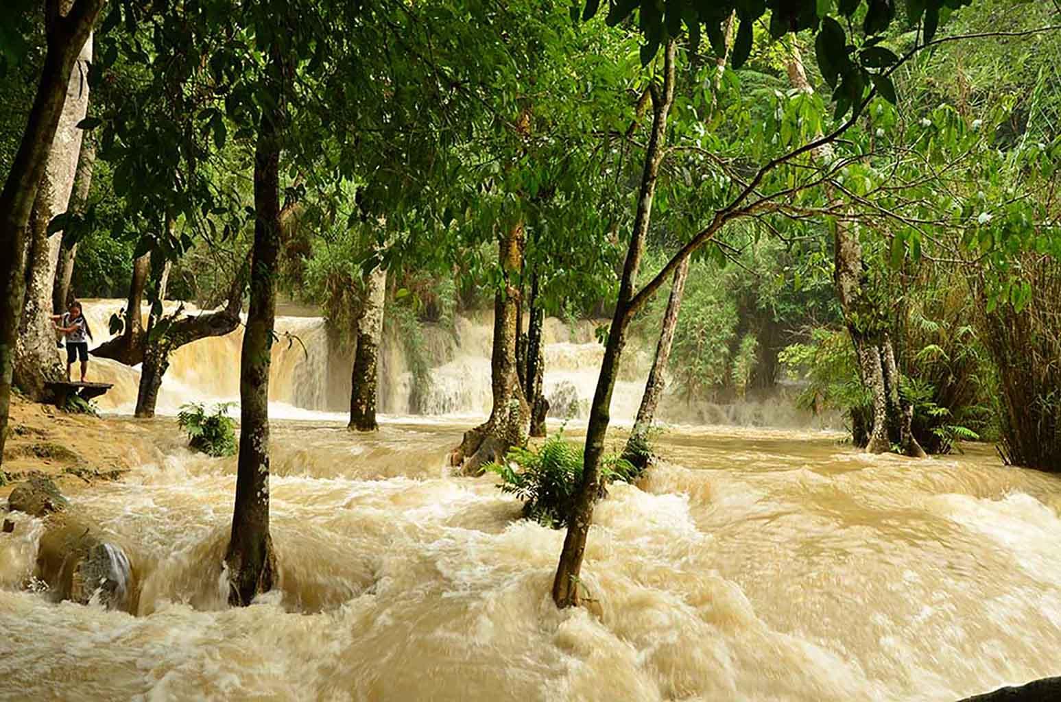 Kouang Si Waterfall, Luang Prabang