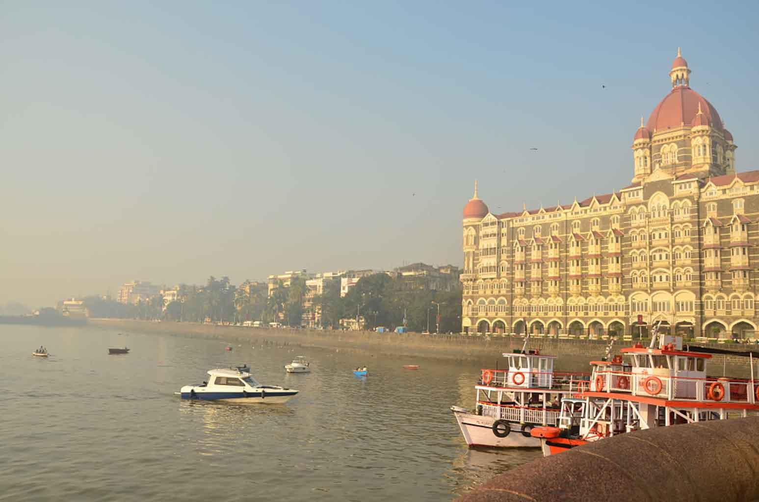 Vistas desde la Gateway of India. Mumbai