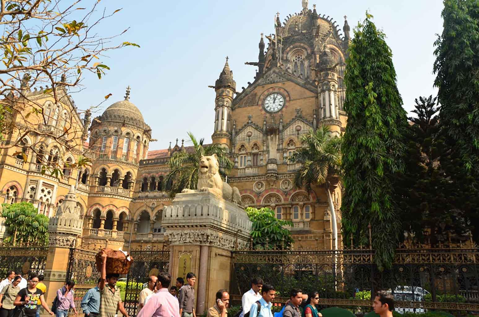 Victoria Terminus (estación de tren), Mumbai