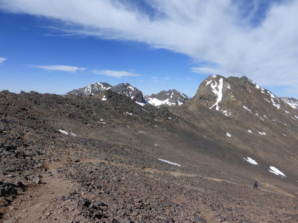 Subida a la cima del Toubkal