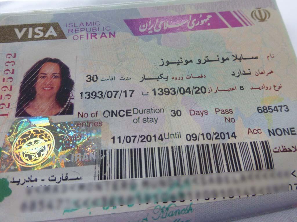 Visado para viajar a Iran