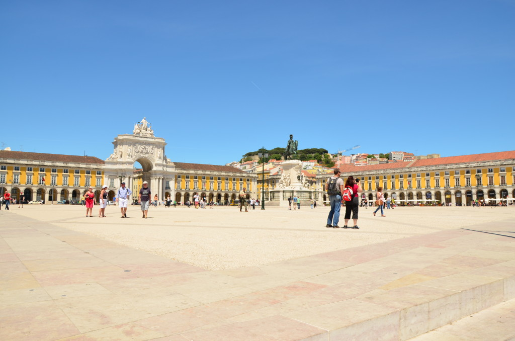 Plaza do Comercio, Lisboa