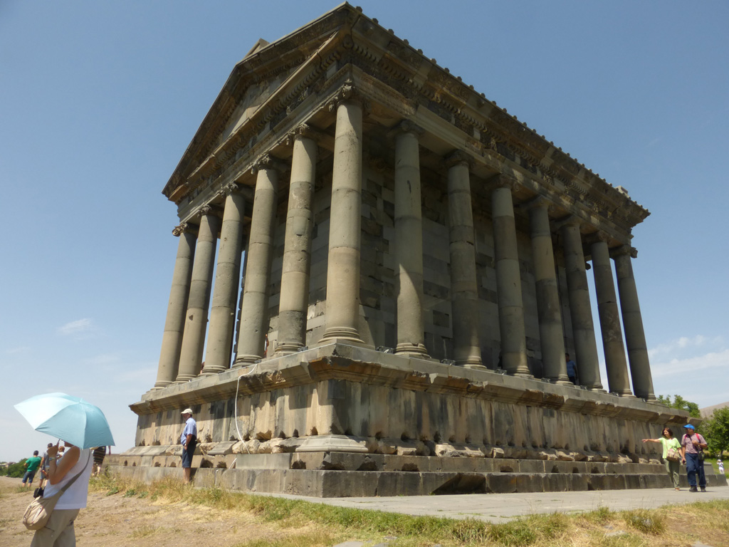 Templo de Garni, Armenia