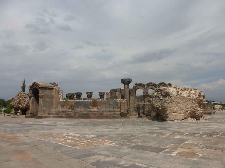 Catedral de Zvartnots, Armenia