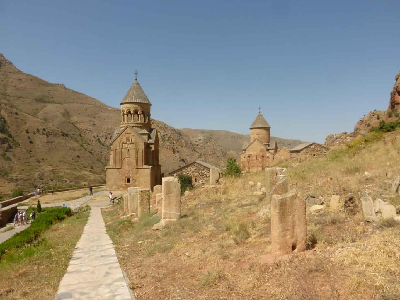 Monasterio de Novarank, Armenia