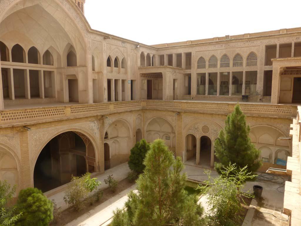 Viajar a Irán: Kashan (Casas tradicionales)