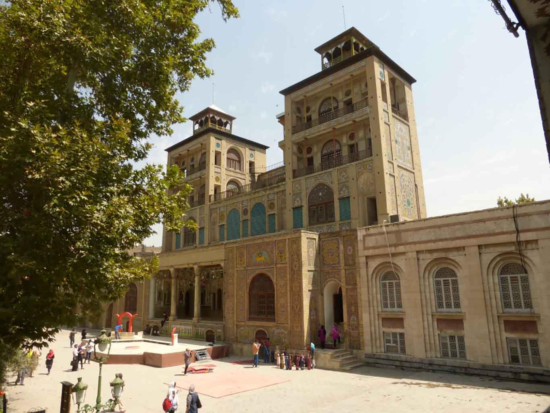 Viajar a Irán: Palacio de Golastán