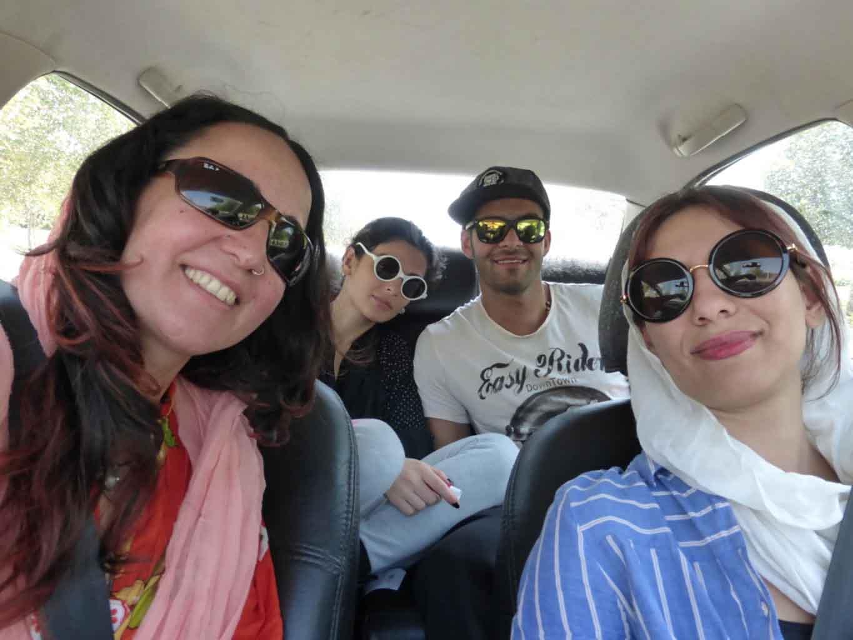 De paseo por Isfahan