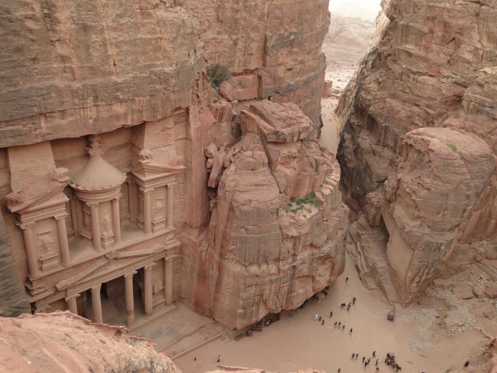 Visita a las ruinas de Petra en Jordania