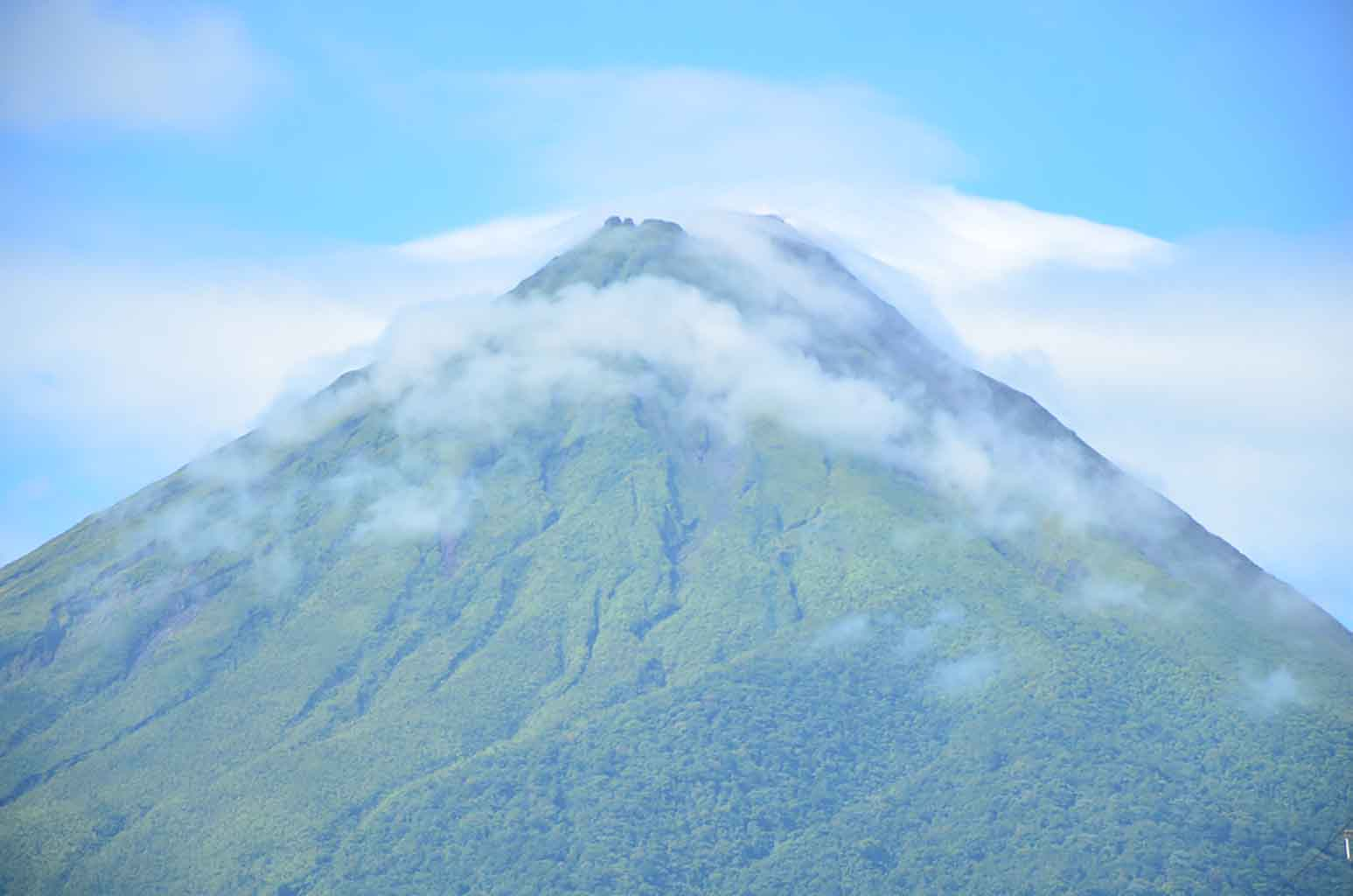 Volcán Arenal desde La Fortuna