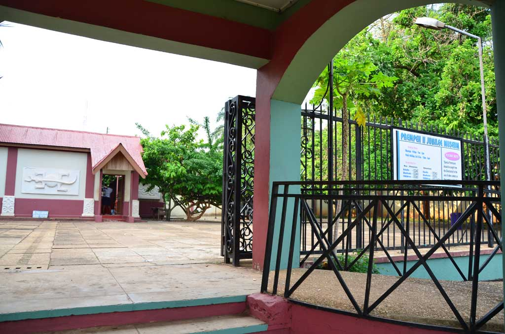 Museo Prepeh II, Kumasi (en el interior no se pueden sacar fotografías)