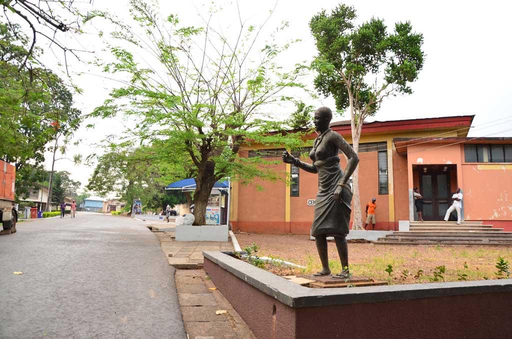 Recinto del Centro Cultural de Kumasi
