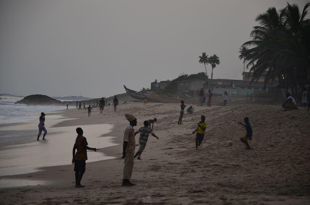 Playa de Cape Coast