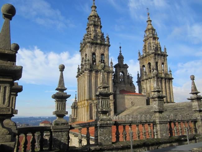 Visita a las cubiertas de la Catedral de Santiago