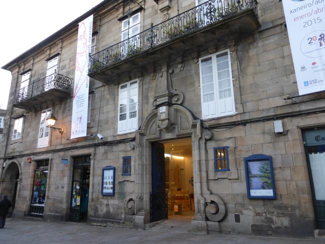 Fachada del edificio del Museo Eugenio Granell
