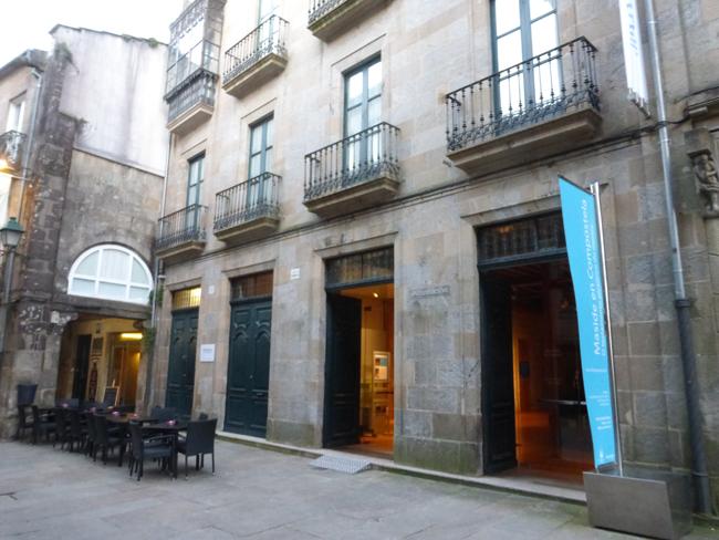Fachada del Museo de la Fundación Caixa Galicia