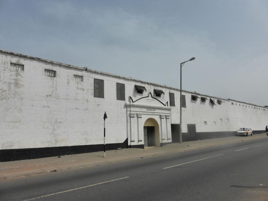 Fuerte de Ussher en Accra