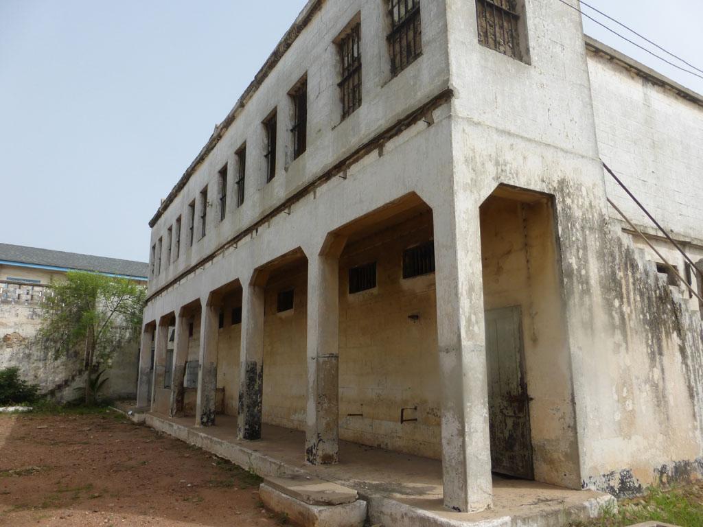 Interior del Fuerte de Ussher, Accra