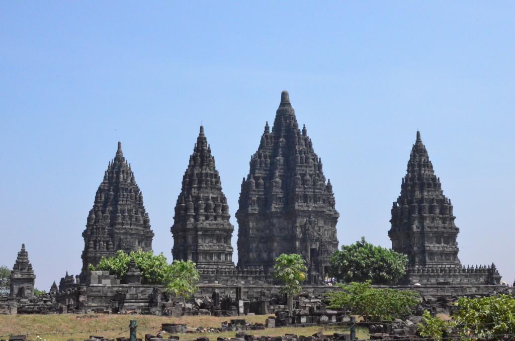 Vista de los templos de Prabamdan