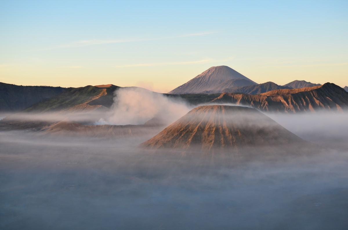 Vistas del volcán Bromo