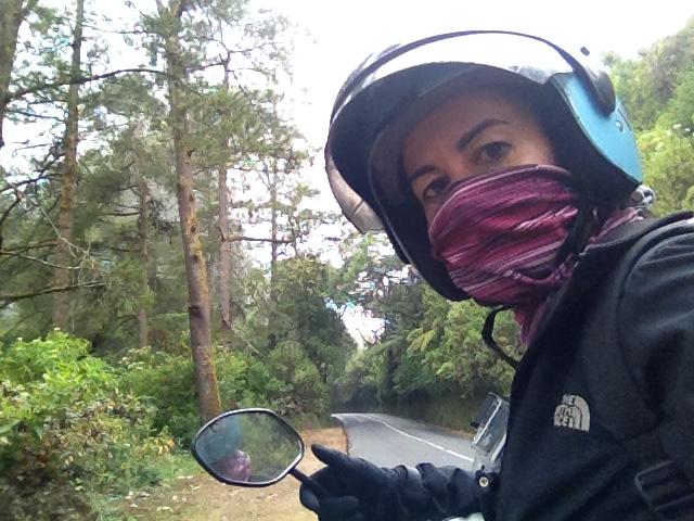 En moto por el interior de Bali