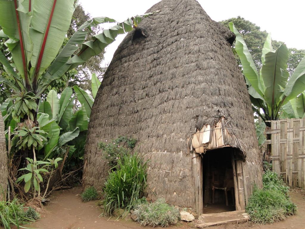 Cabaña típica en Dorze