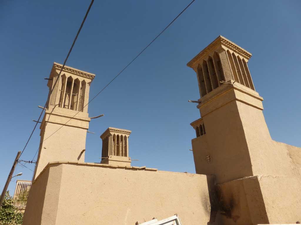 Badgir en Yazd.