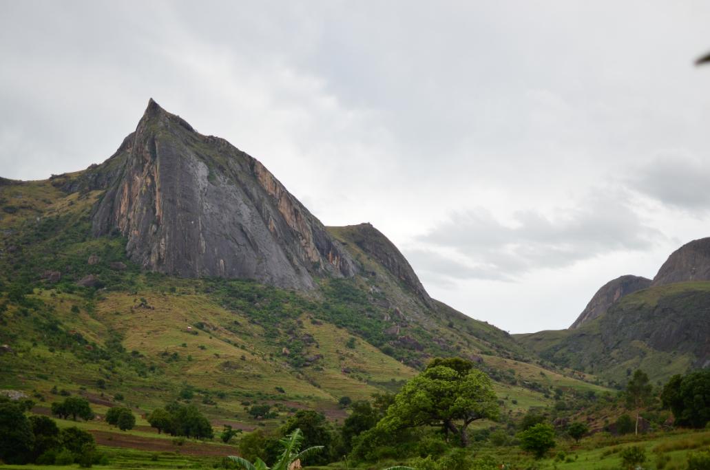 Vistas del Pico Camaleón, en el Parque Nacional de Andringitra