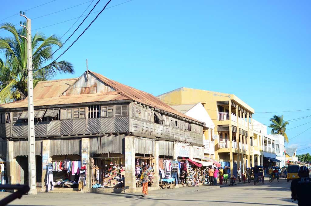 La calle principal de Morondava