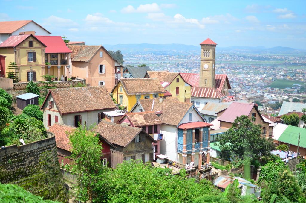 Vistas desde la Ciudad Alta (Haute Ville)