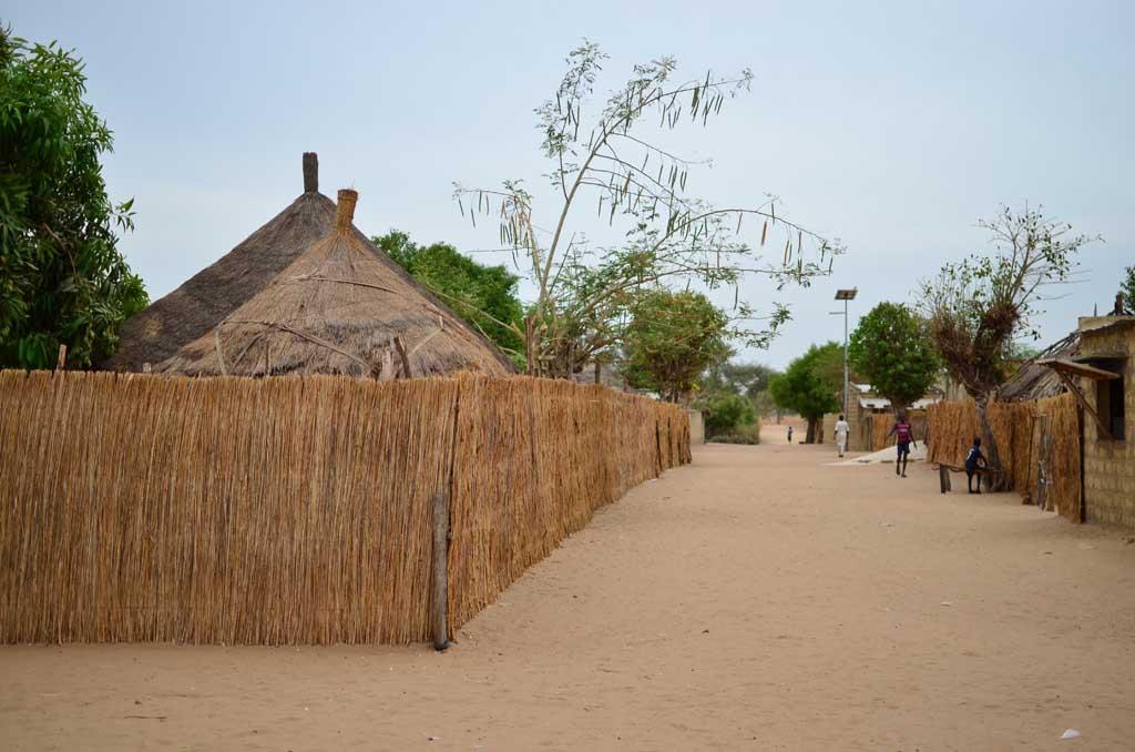 Pueblo de Faoye (Sine-Saloum)