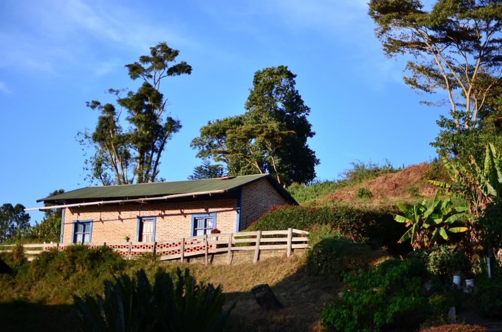 Habitación para los turistas en el convento